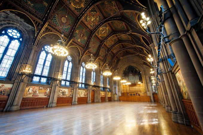 The glorious Great Hall