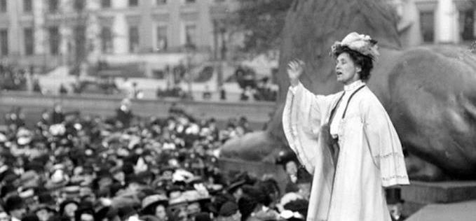 Emmeline Pankhurst, London, 1908