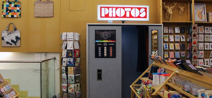 Fred Aldous photo booth