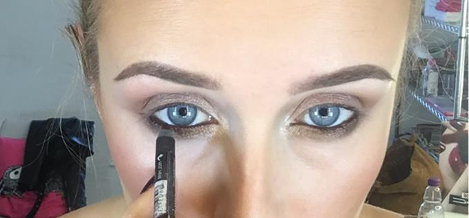 Line your waterline for added effect