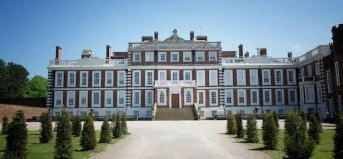 Knowsley Hall, where Shakespeare is thought to have written, produced and performed