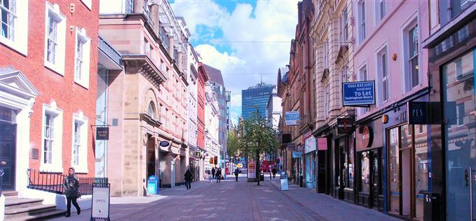 Empty lots of King Street
