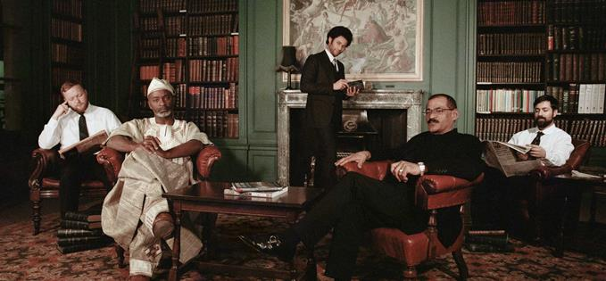 Tayo Aluko, Laurence Westgaph and Sugar Deen at The Athenaeum