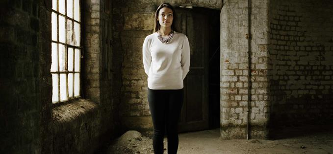 Sophie Dixon at Stanley Dock watehouse