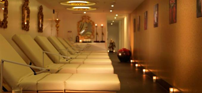 Sienna Spa relaxation room