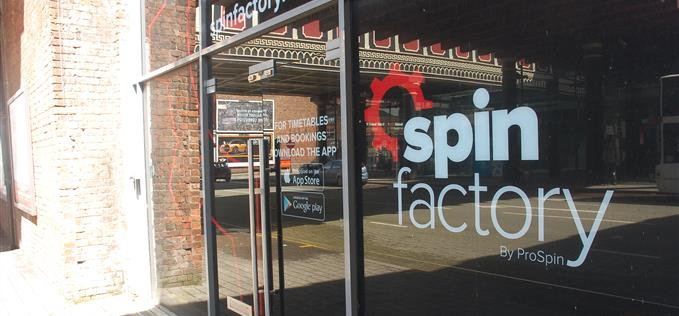 The Spin Factory Salford Central