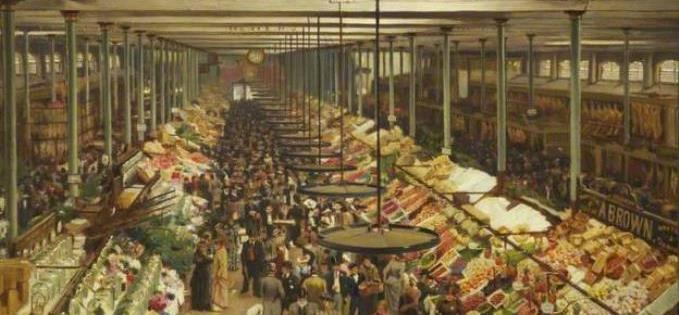 The original market stretched over an area the size of St Georges Hall
