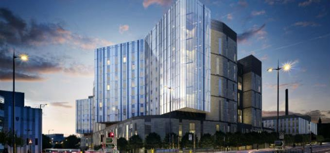 The new-look Royal Liverpool University Hospital