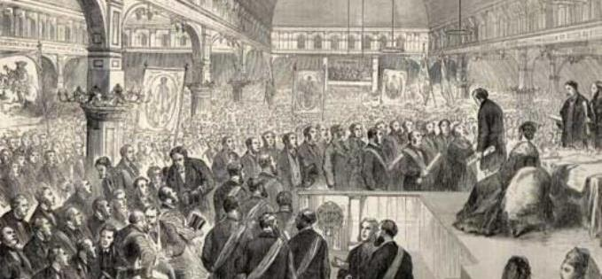 Disraeli at the Pomona meeting