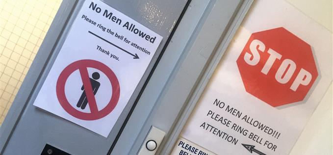 No men allowed at Ladyzone