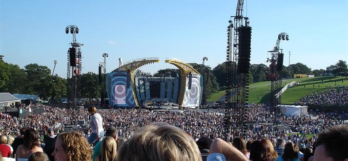 Robbie at Roundhay, 2006