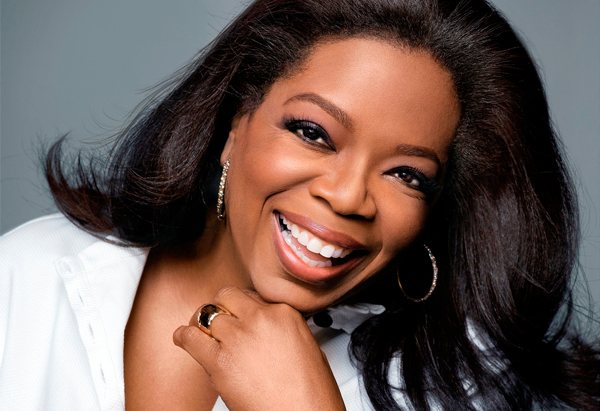 ...as does the queen of advice shows Oprah