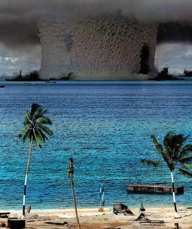 Impacts of nuclear testing on bikini