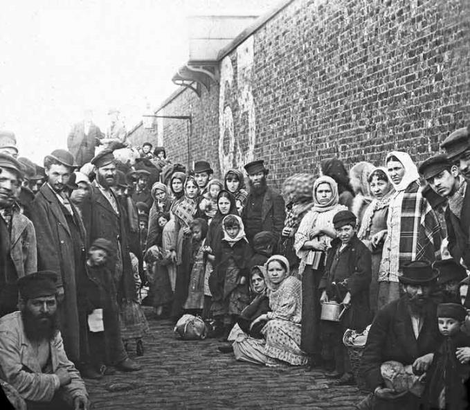 Nine million emigrants and refugees came from across Europe to Liverpool  looking for a better life in the New World