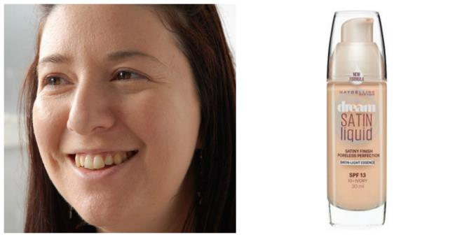 Maybelline Satin Liquid Foundation
