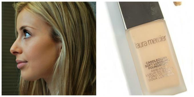 Lucy wearing Laura Mercier