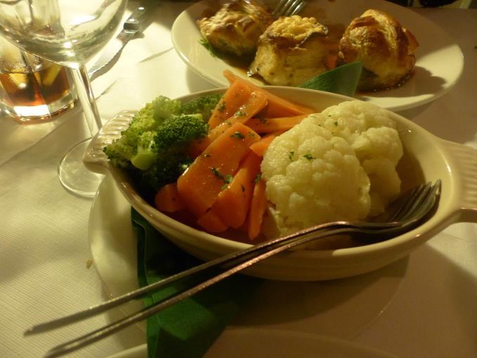 Boiled veg