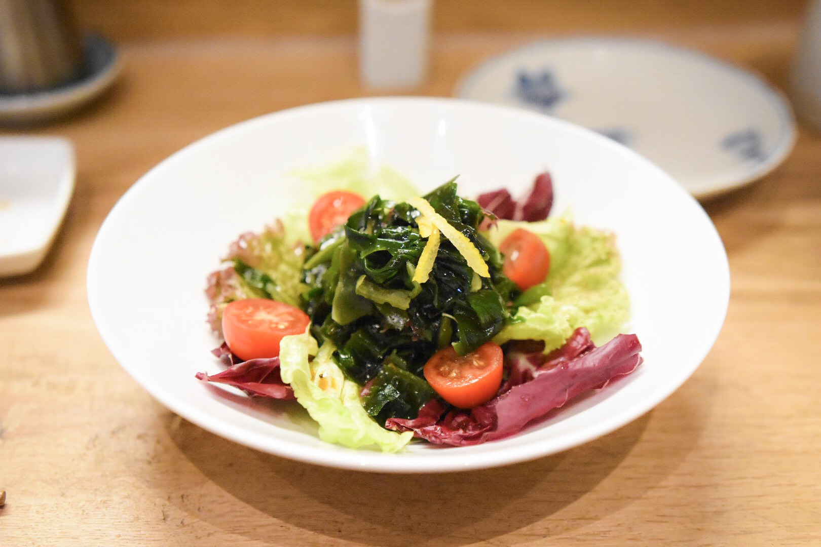 Seaweed Salad with Ponzu