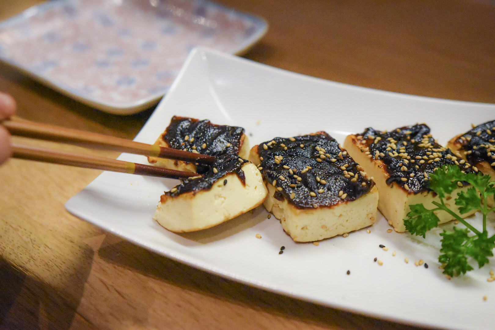 Tofu with Sweet Miso