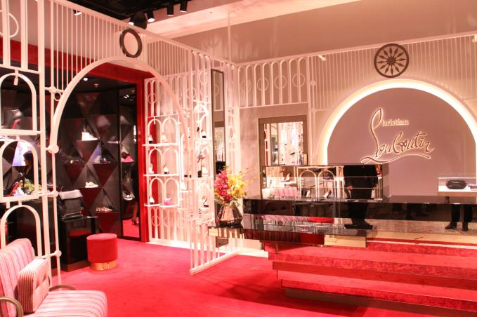 406d4c1817 Christian Louboutin Makes Whistle Stop Appearance At Selfridges