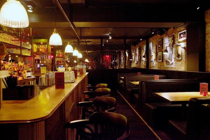 first look red door deansgate 39 s new basement bar. Black Bedroom Furniture Sets. Home Design Ideas