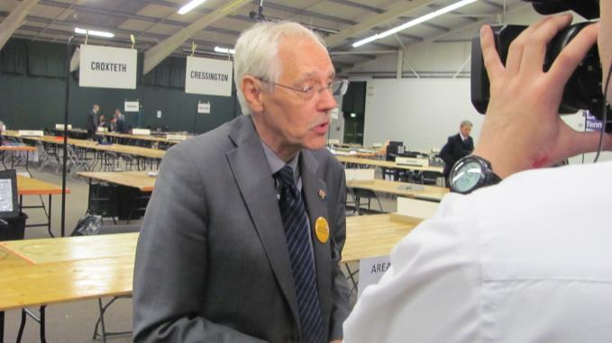 Mayoral rival Richard Kemp, Lib Dem, took more than 20,000 votes