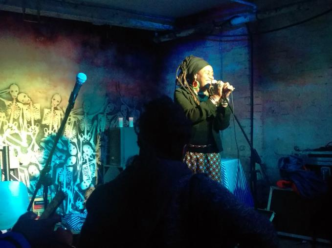 Khadija Ibrahim at Temple of Boom