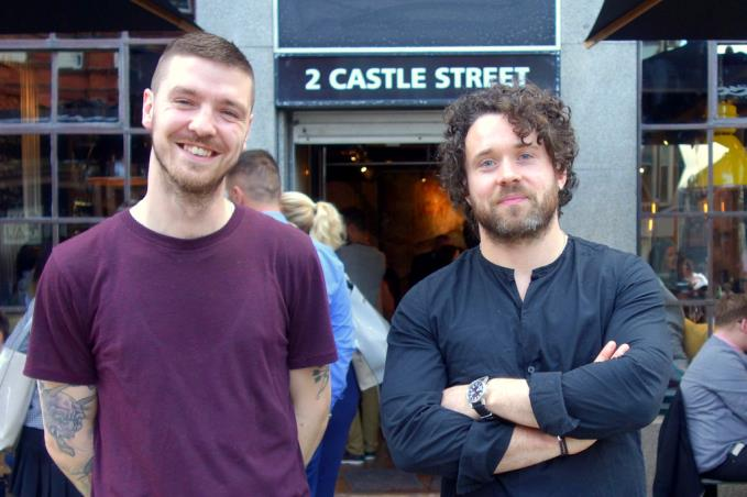 Bryn Jones, operations manager, and Matt Farrell, director, of Graffiti Spirits