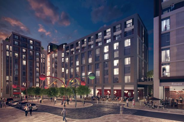 How the new £40m Wolstenholme Square will look with Penelope in her place