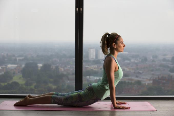 Actress turned yoga instructor, Gemma Merna