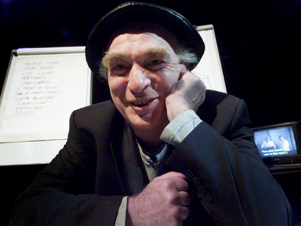 Ken Campbell lost out to Sylvester McCoy (below) because his portrayal was deemed too dark