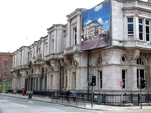 The massive old post office HQ in Liverpool stayed empty after Davies bought it