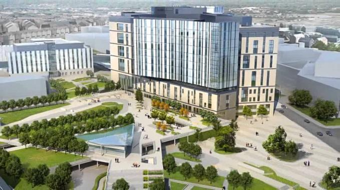 campaigners claim some staff linked to the Women's have already had sight of floor plans of an alternative hospital in the grounds of the towering new Royal in Prescot Street