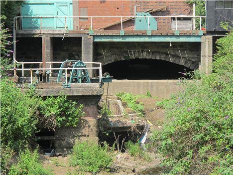 Hint of an ancient bridge