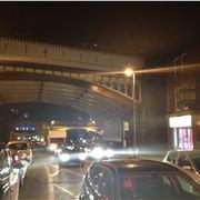 Traffic chaos on match night