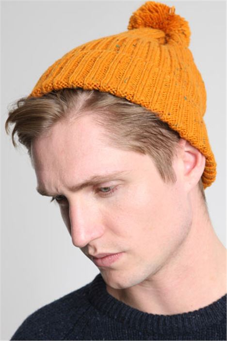 Rust Beanie by Urban Outfitters
