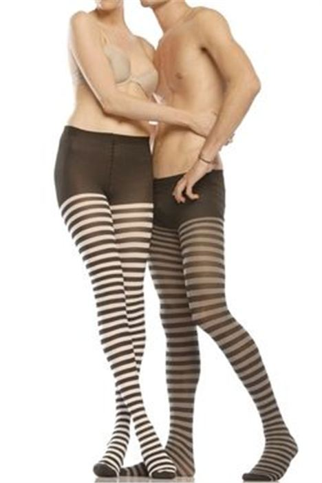 Striped manyhose