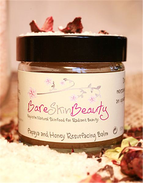 Bare Skin Beauty Papaya And Honey Resurfacing Balm