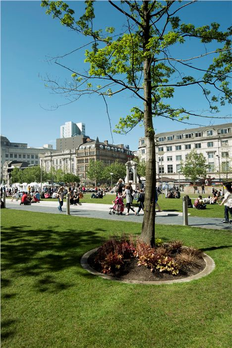 Piccfit will take place in Piccadilly Gardens, Manchester