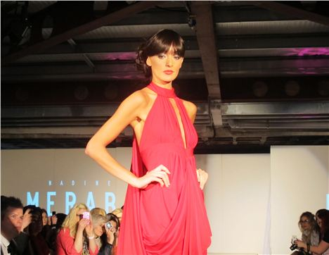 Nadine Merabi at Manchester Fashion Week