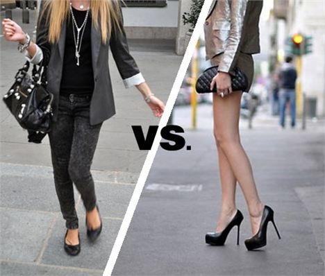 Does wearing heels make you feel more confident?