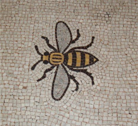 Busy Manchester Bee Mosaic
