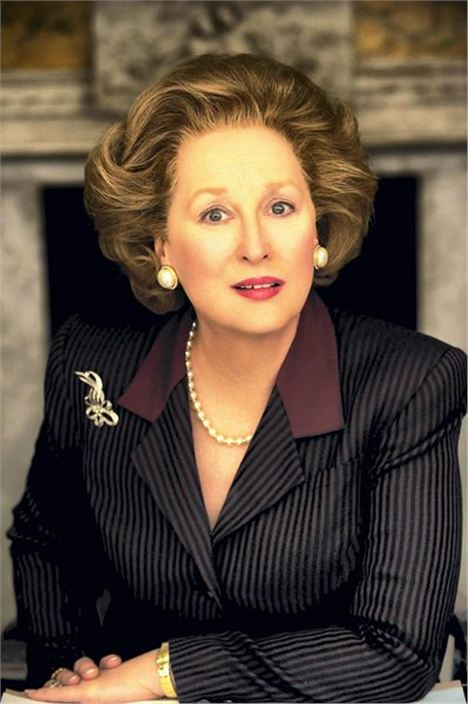 Meryl Streep In Manchester Town Hall In The Oscar-Winning Performance As Margaret Thatcher In The Iron Lady