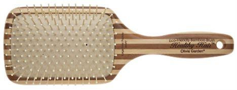 Olivia Garden Bamboo Ionic Paddle Brush