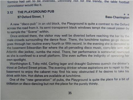 Naughty pub