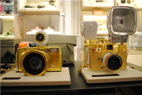 Limited edition gold Diana at Lomography