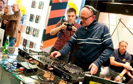 Graeme Park DJ'ing at Harvey Nichols