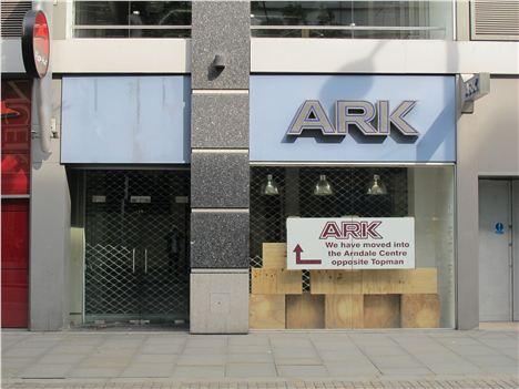Ark's former Corporation Street location