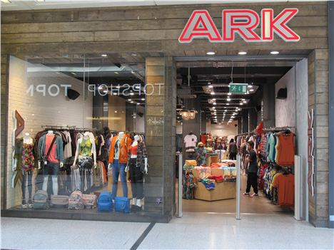 Ark's new location in Manchester Arndale