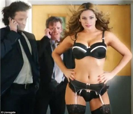 A Screen Shot Of Kelly's Appearance In Keith Lemon The Film